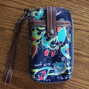 NWT Sakroots Smartphone Wristlet